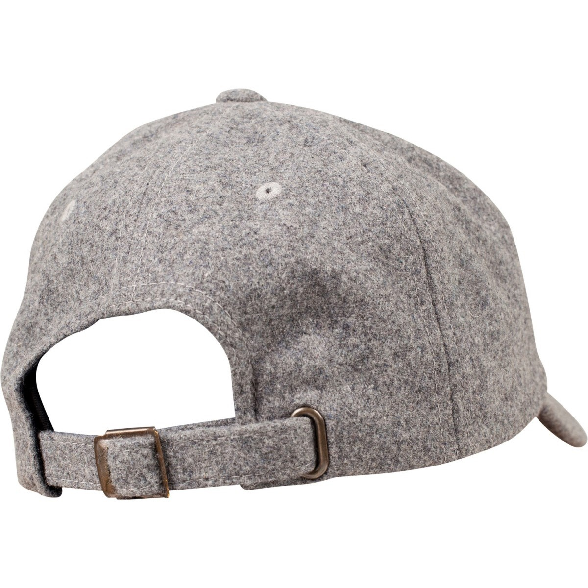 a329015b41e48 Flexfit Low Profile Melton Wool Strapback Dad Cap - Heather. About this  product. Picture 1 of 5  Picture 2 of 5  Picture 3 of 5 ...
