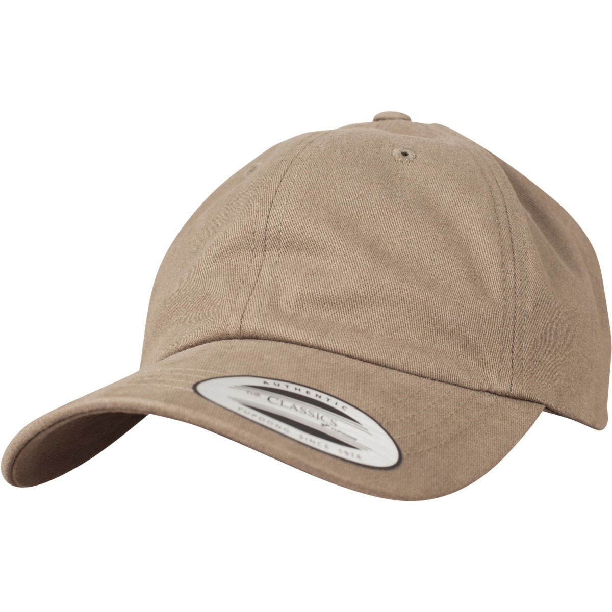 Flexfit Peached Cotton Twill Dad Cap - Loden Brown. About this product.  Picture 1 of 5  Picture 2 of 5 ... ae62513d79cc