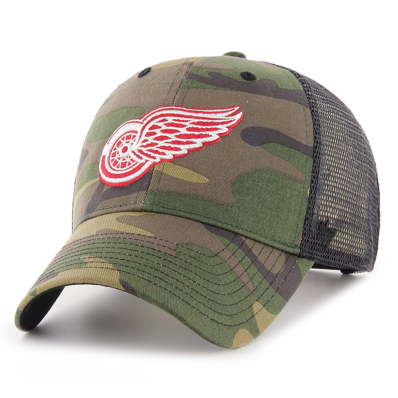 47 Brand Adjustable Cap BRANSON Detroit Red Wings rot
