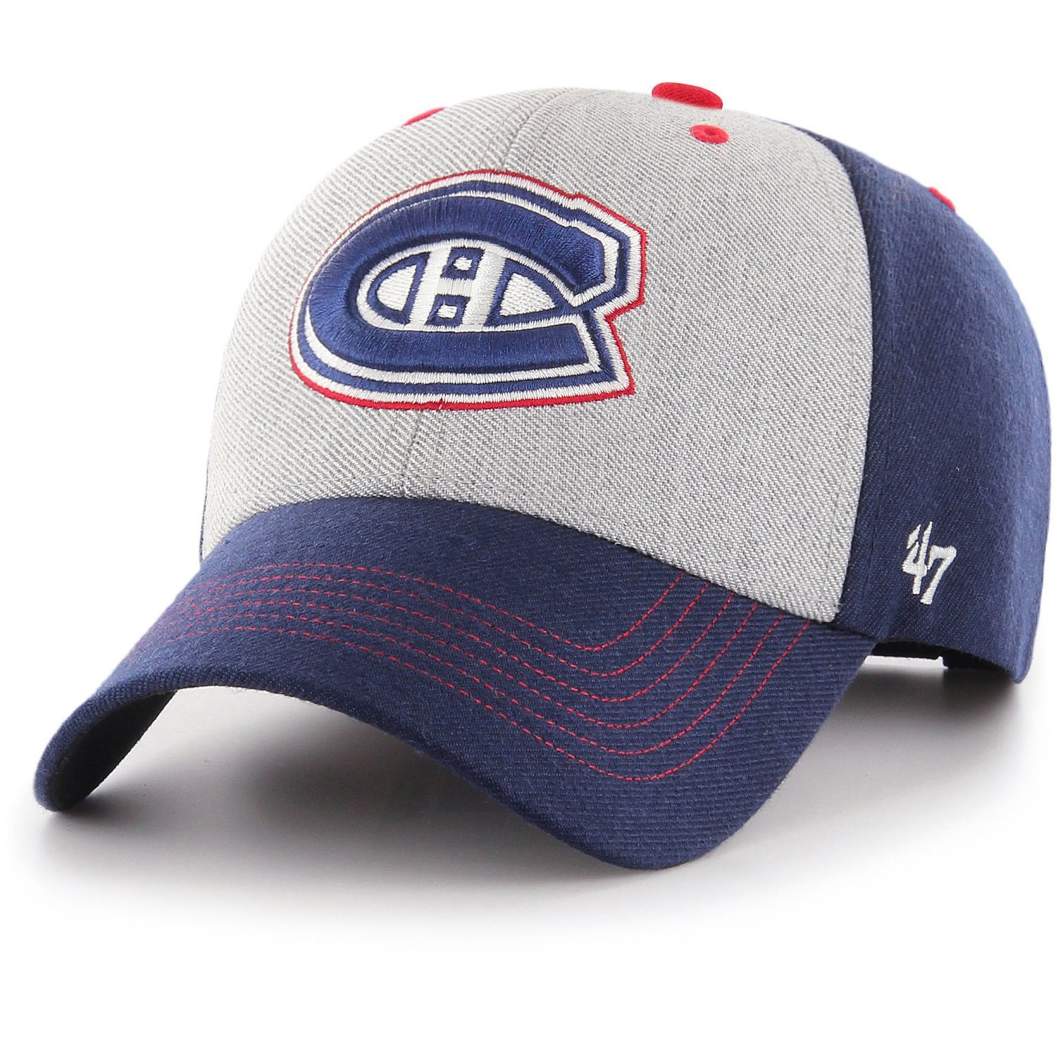 FORMATION Montreal Canadiens navy 47 Brand Adjustable Cap Eishockey