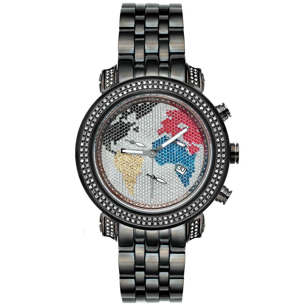 Joe-Rodeo-Diamond-Men-039-s-Watch-CLASSIC-black-1-75-ctw