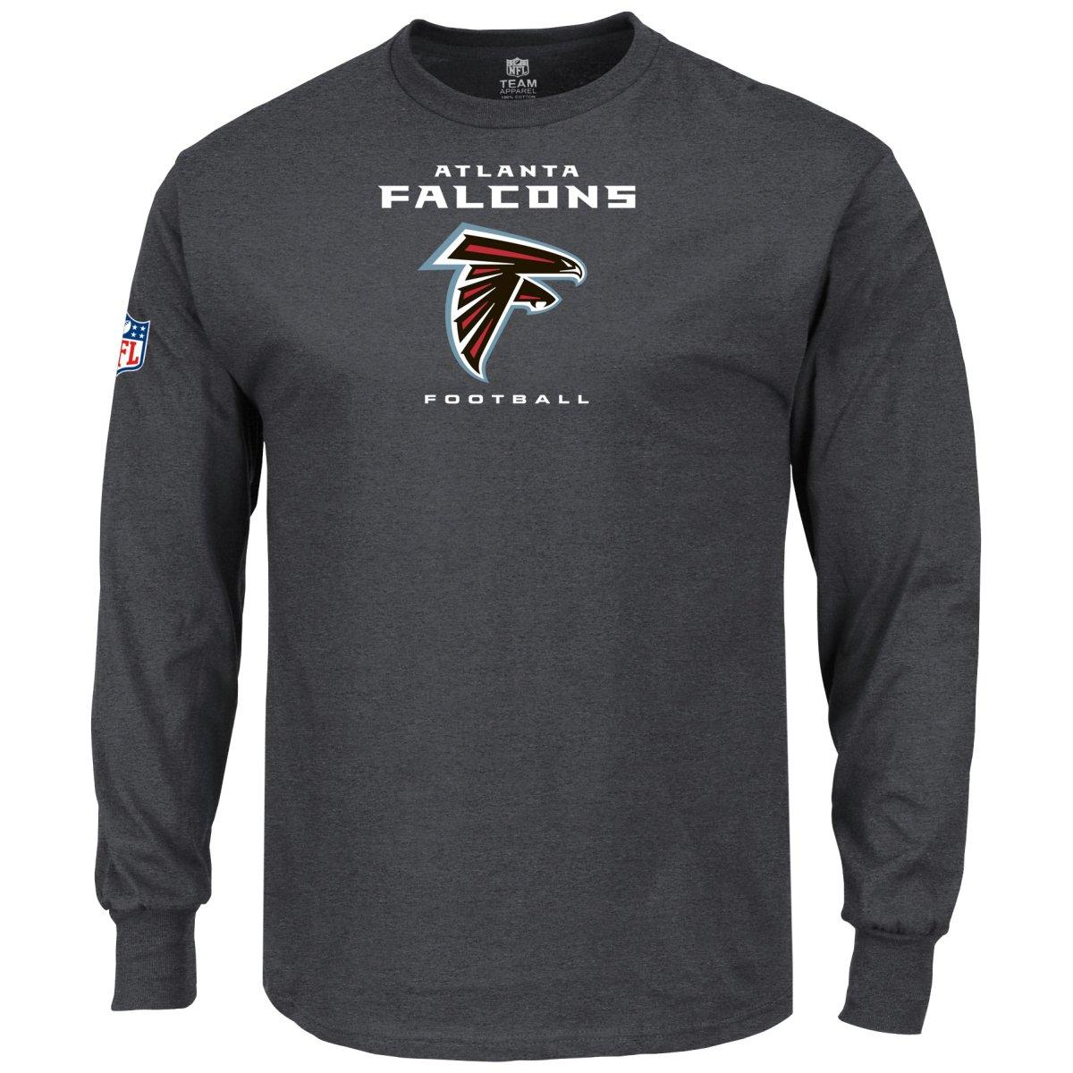 Majestic il nostro squadra uomoiche Lunghe-Atlanta Falcon autobone-S