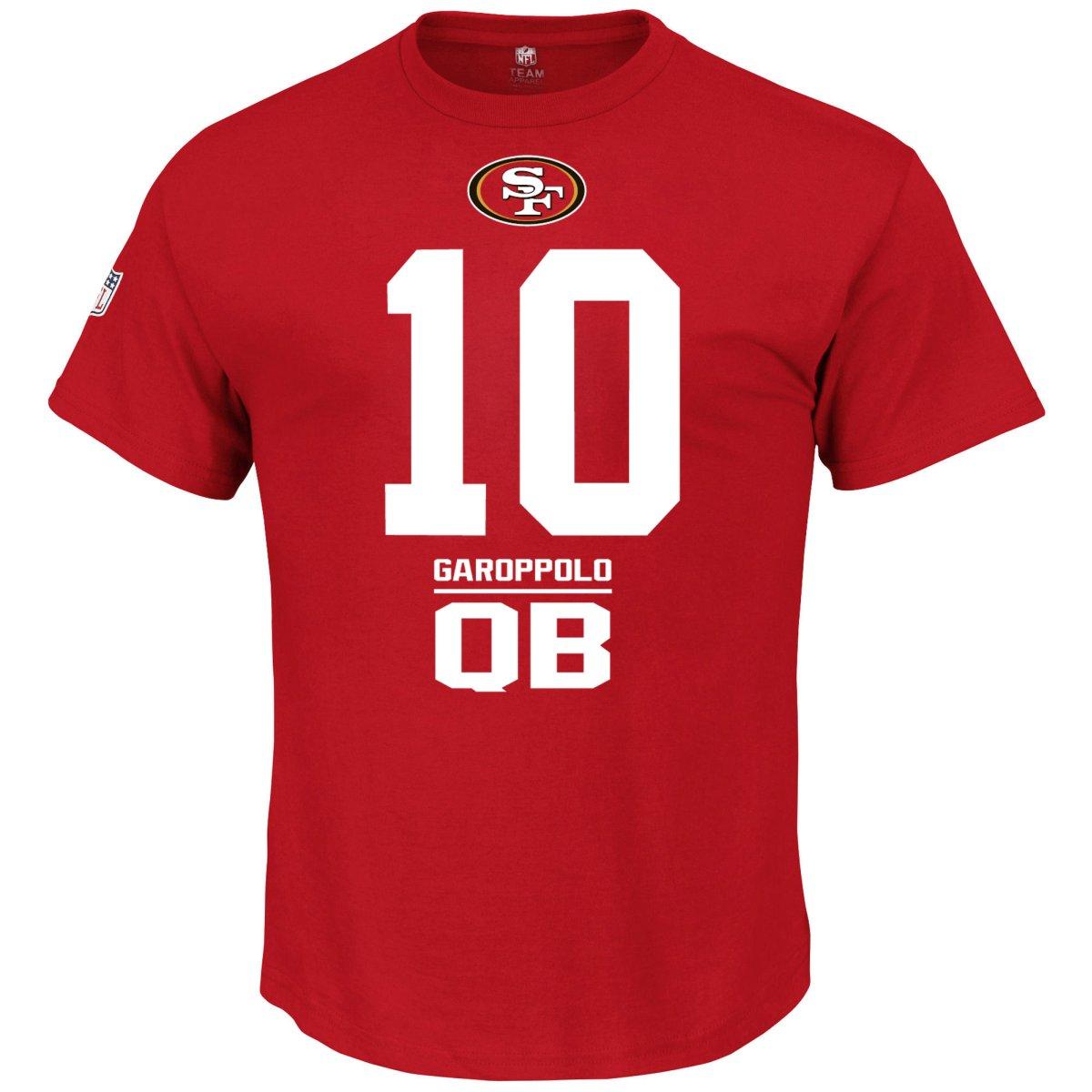 d1e5bb3d5 Details about Majestic NFL Shirt - San Francisco 49ers  10 Jimmy Garoppolo  - S