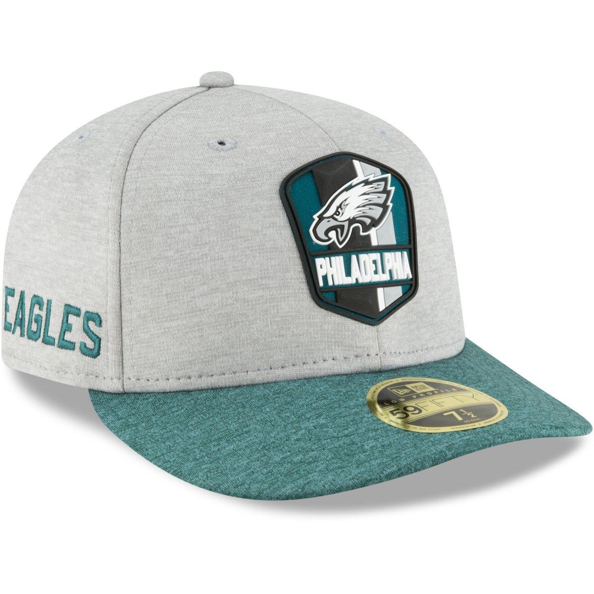 New Era 59Fifty Low Profile Cap NFL 2018 Sideline Away grey