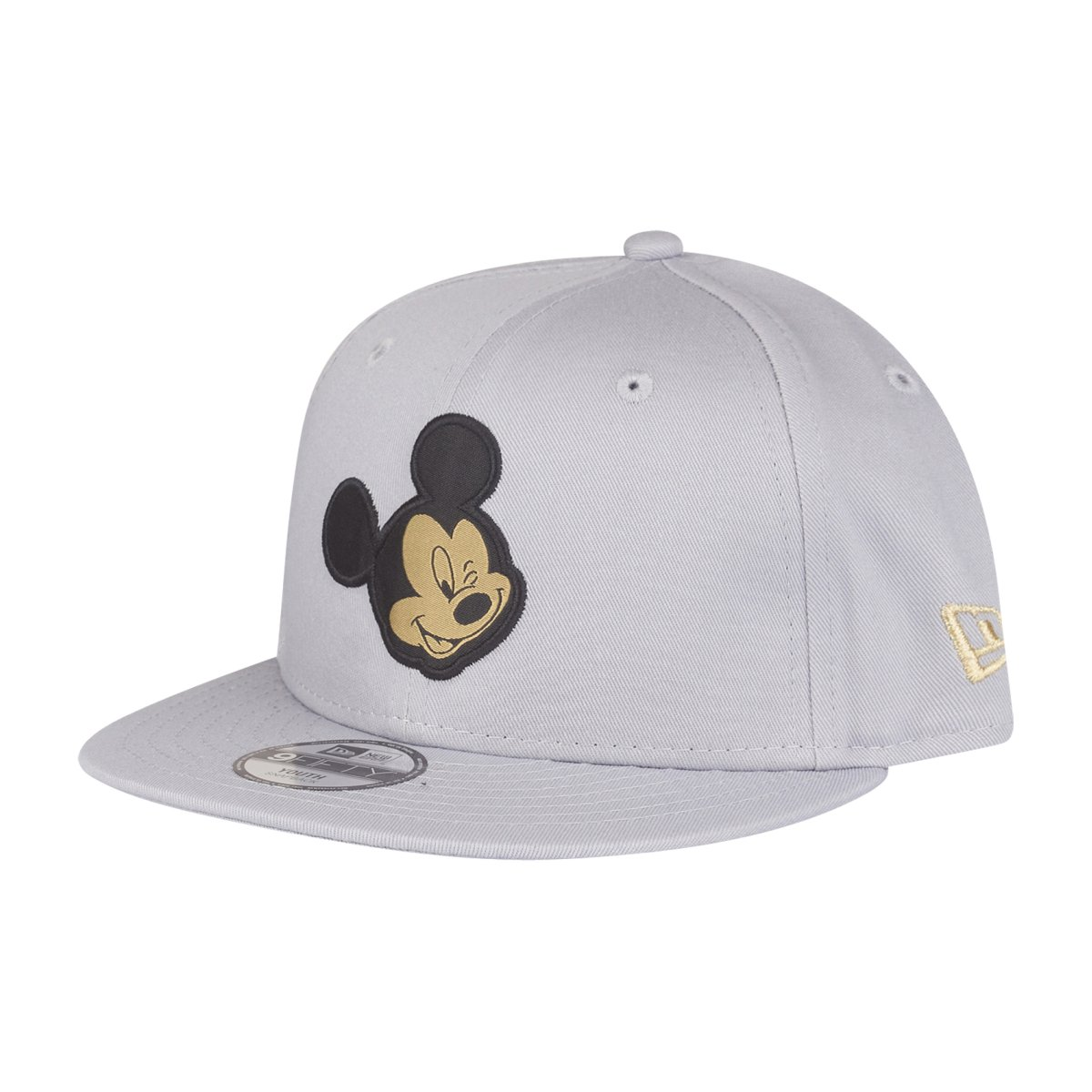 dbac0406555 Details about New Era 9Fifty Snapback KIDS Cap - MICKEY MOUSE grey