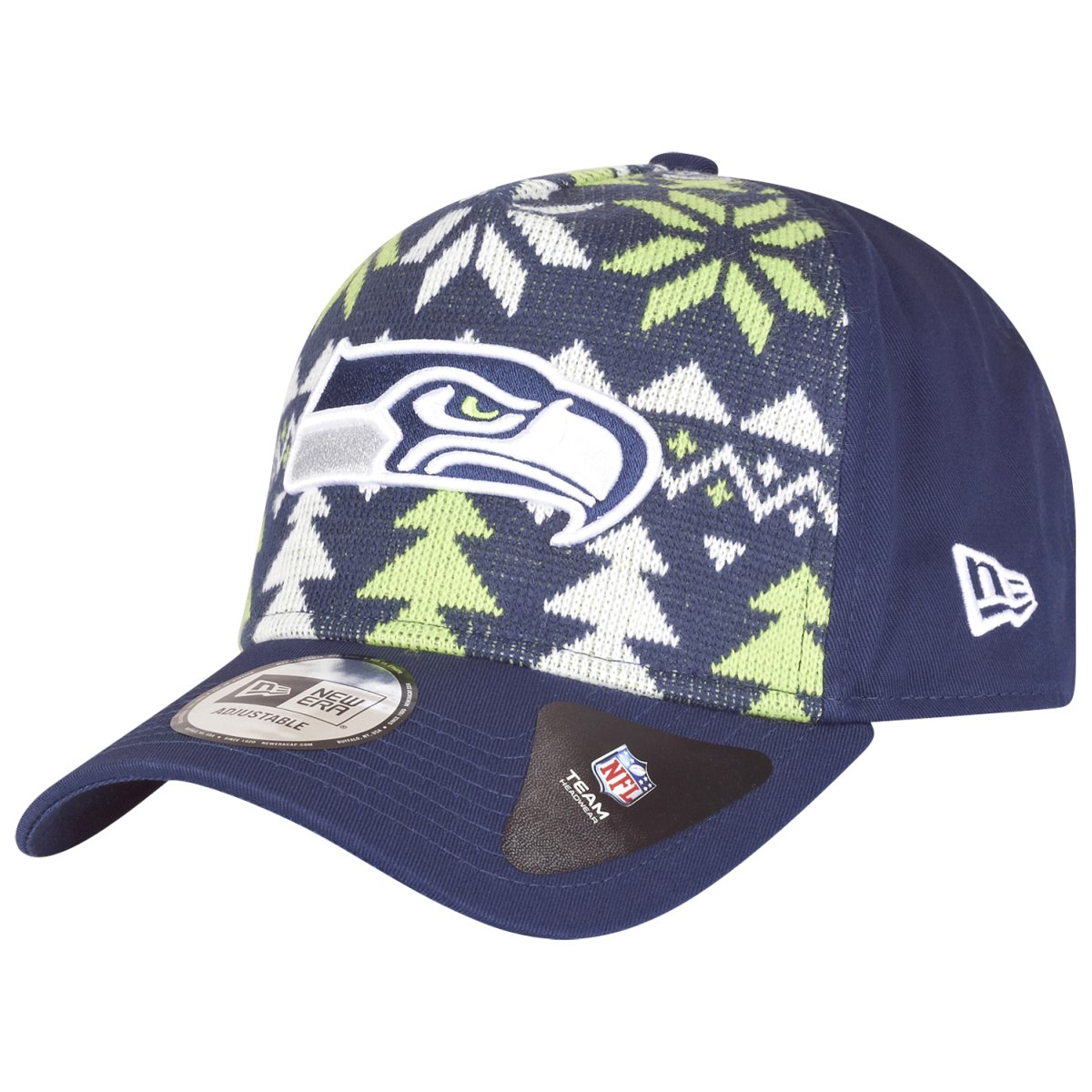 New Era Christmas Jumper Trucker Cap - NFL Seattle Seahawks - One Size 7bf9fb06cffa