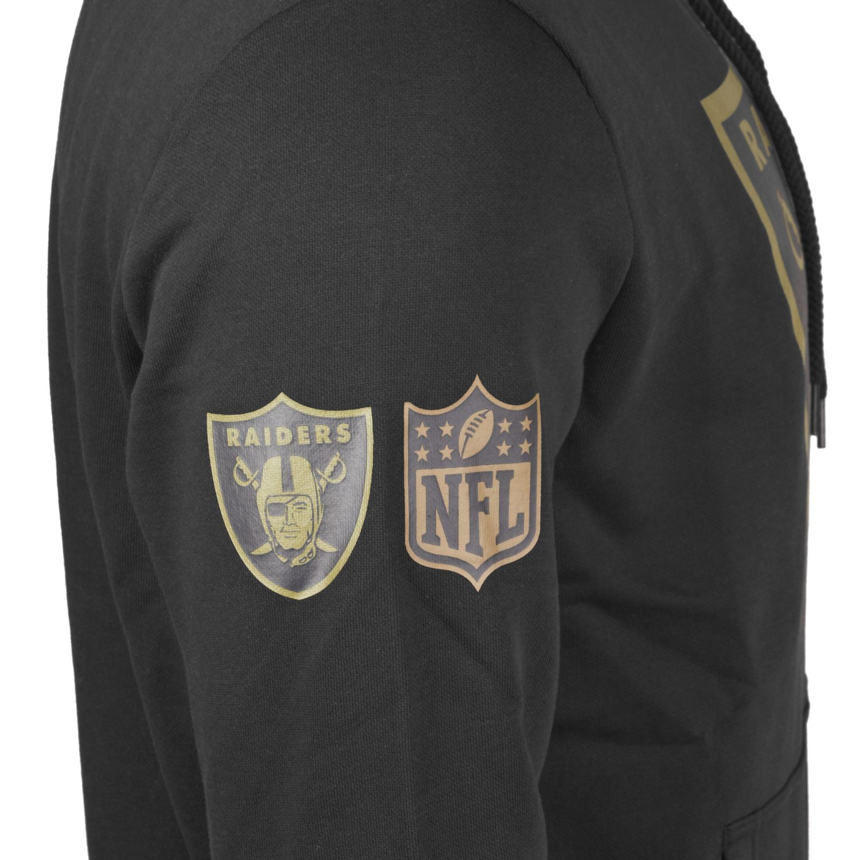 New Era T-Shirt NFL Graphic Oakland Raiders schwarz