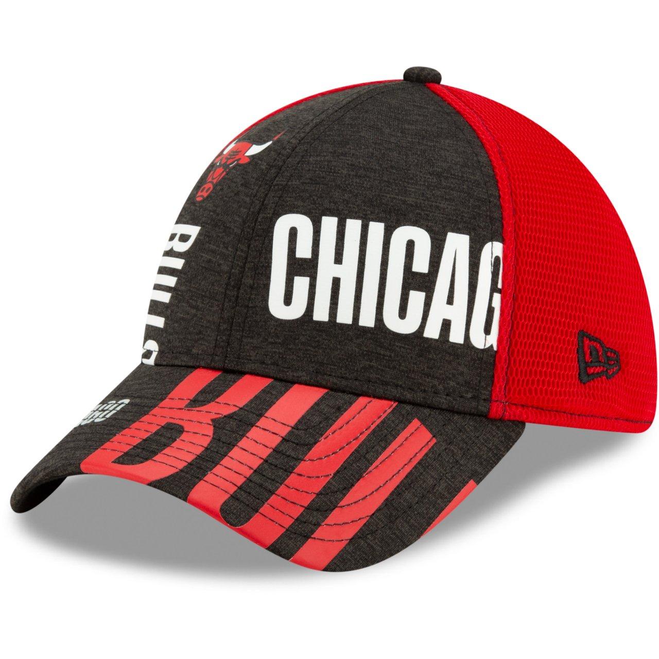 New Era 39Thirty Cap NBA TIP OFF Chicago Bulls rot