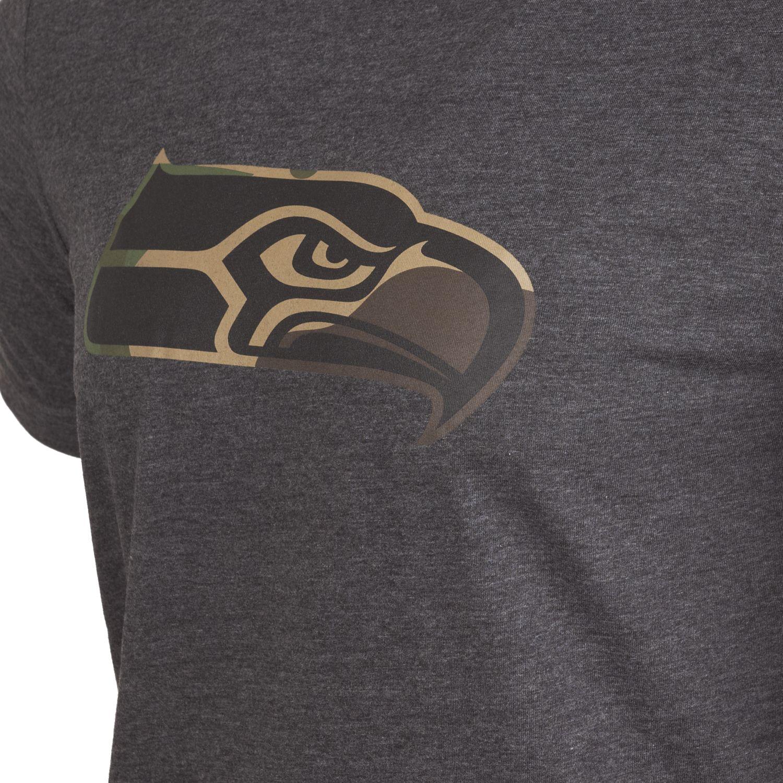 NEW-Era-Fan-NFL-Logo-Squadra-Camicia-ANTRACITE-Legno-Mimetico miniatura 37