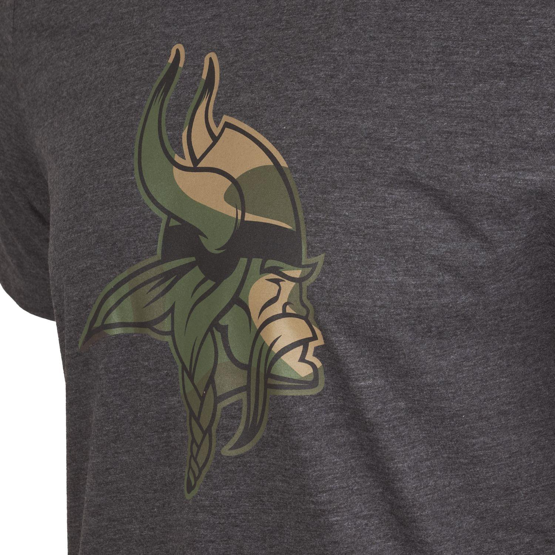 NEW-Era-Fan-NFL-Logo-Squadra-Camicia-ANTRACITE-Legno-Mimetico miniatura 16