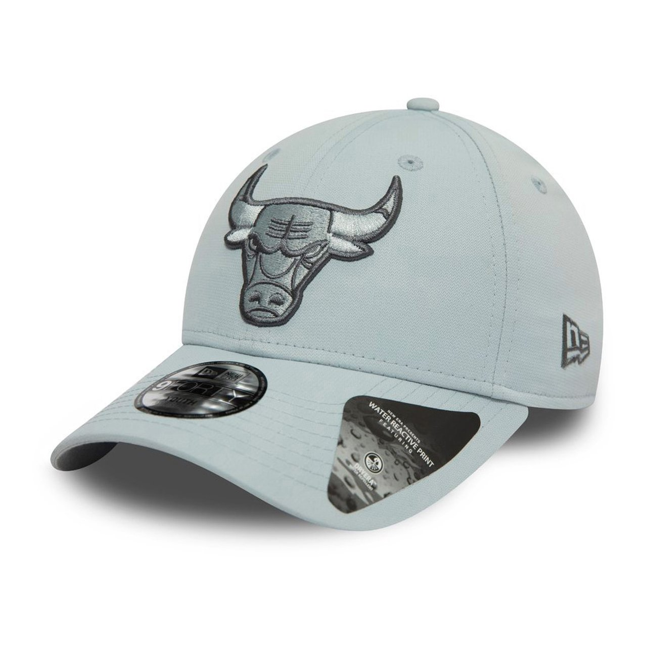 camo WATERMAGIC Chicago Bulls grau New Era 9Forty Cap