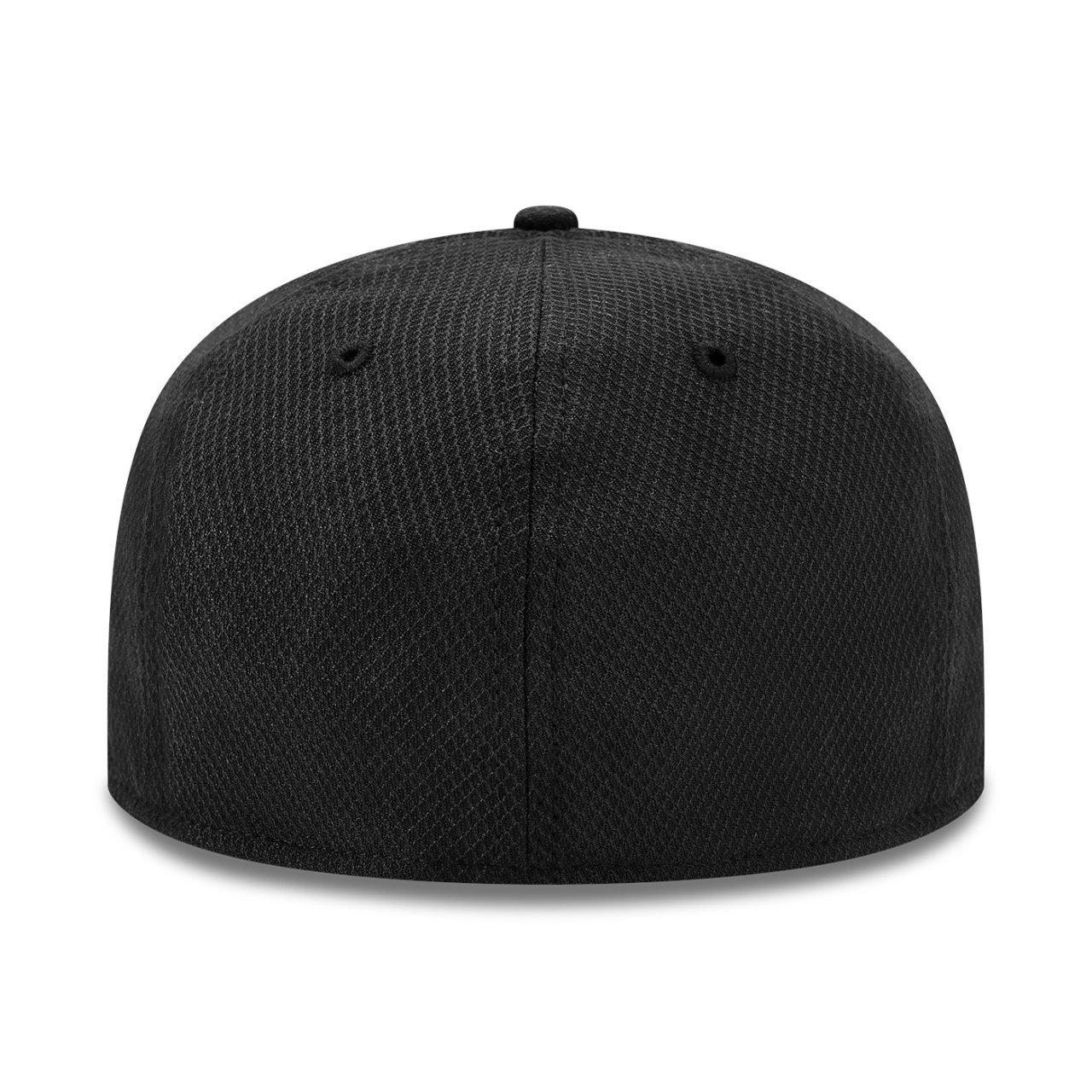 Olympique Lyon schwarz New Era 39Thirty Diamond Cap