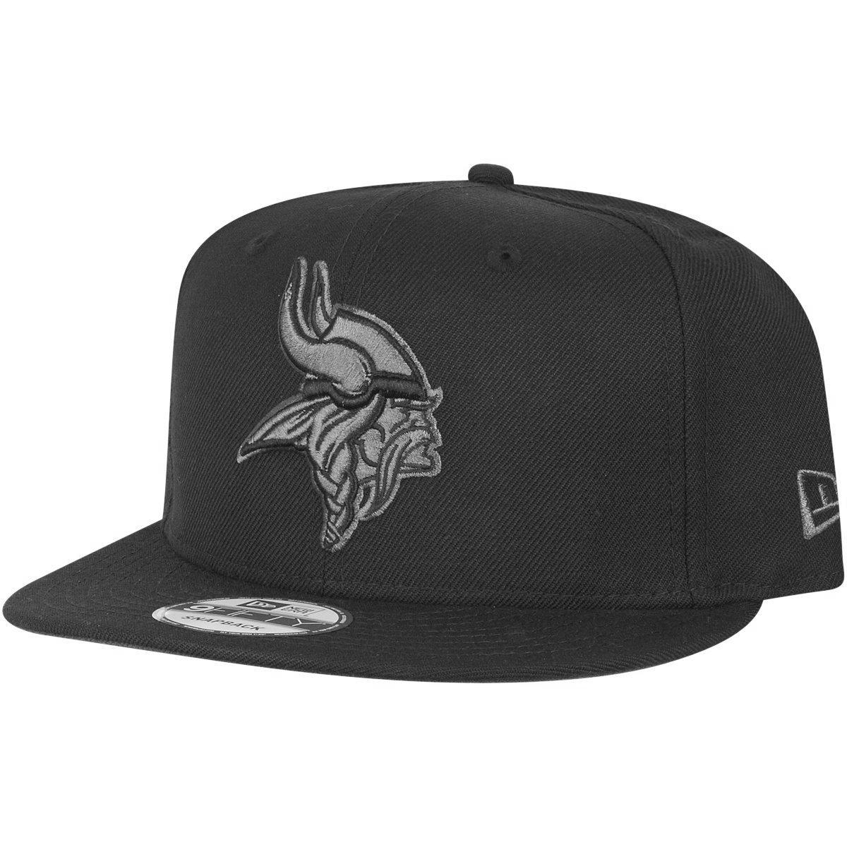 New Era 9Fifty Snapback Cap - Minnesota Vikings schwarz grau | eBay
