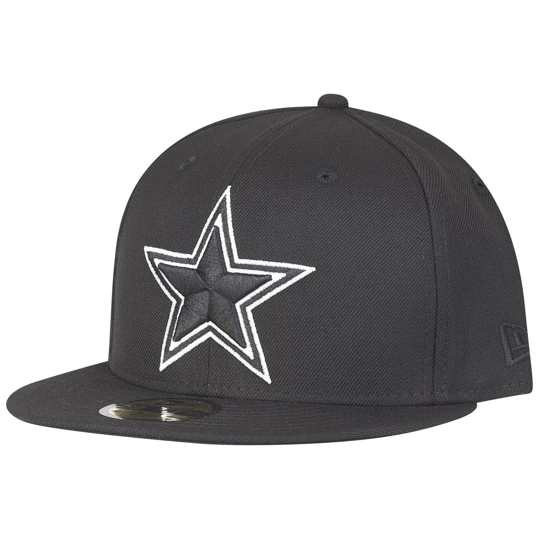 New Era 59Fifty Fitted Cap - Dallas Cowboys schwarz / weiß | eBay