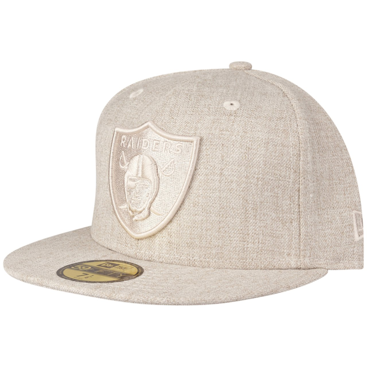 New Era 59Fifty Cap HEATHER OAT Oakland Raiders wood camo