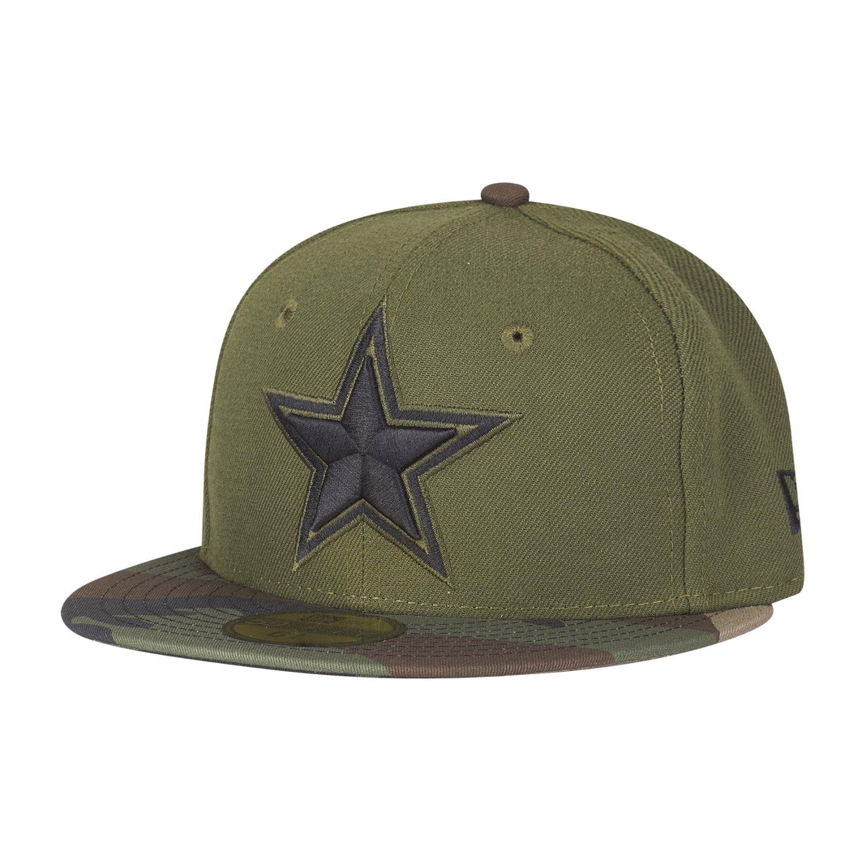 New Era 59Fifty KIDS Cap - Dallas Cowboys oliv / wood camo - | eBay