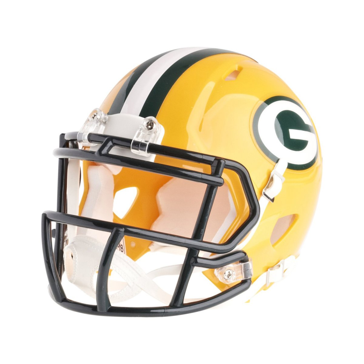 5fd0180b2d3 Riddell Mini Football Helmet Nfl Speed Green Bay Packers Ebay