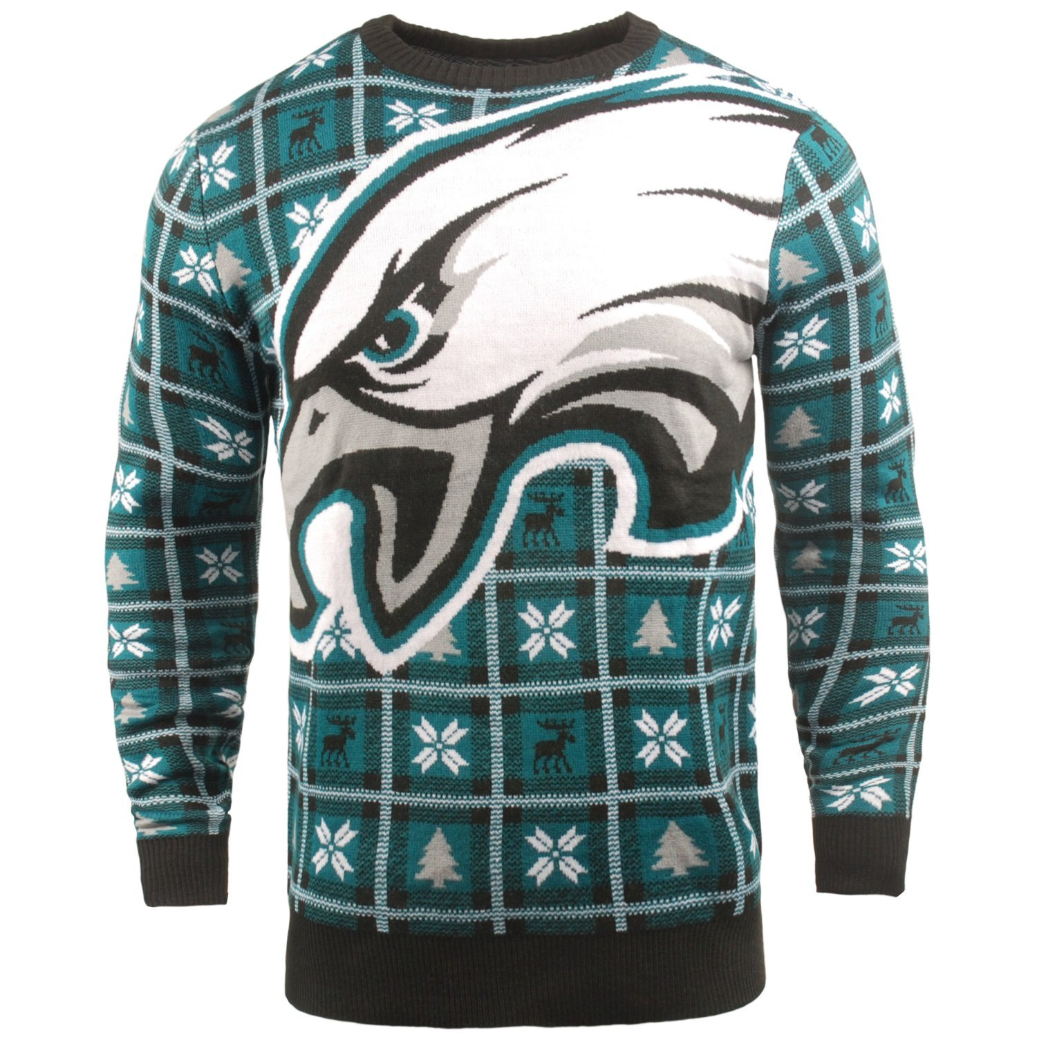 Details About Nfl Ugly Sweater Xmas Knit Pullover Philadelphia Eagles