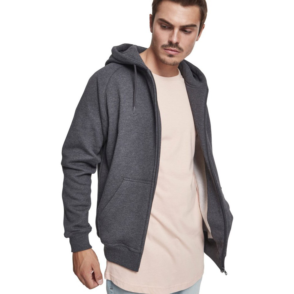 Hoody Loose Classics Urban Zip fit Sweat YxTqp7aH