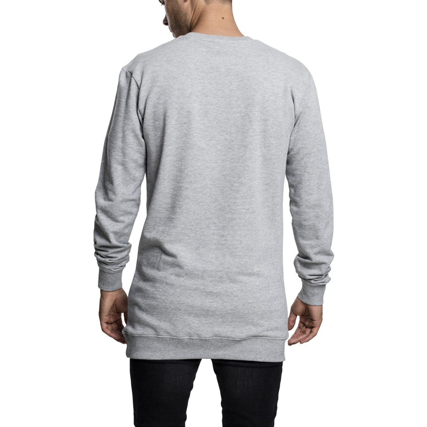 Urban-Classics-Long-Light-Fleece-Crewneck-Pullover