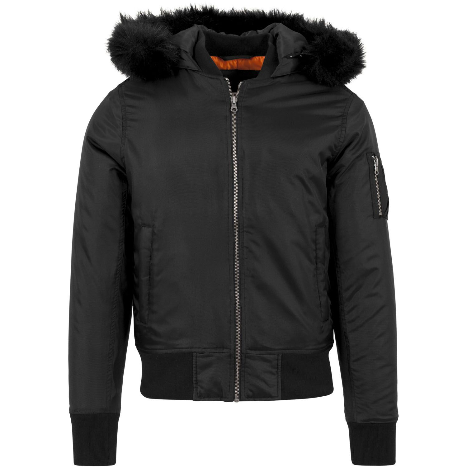Hooded Basic Bomber Jacket Urban Classics Streetwear Men XXL Black. About  this product. Picture 1 of 5  Picture 2 of 5 ... 73a4b656904