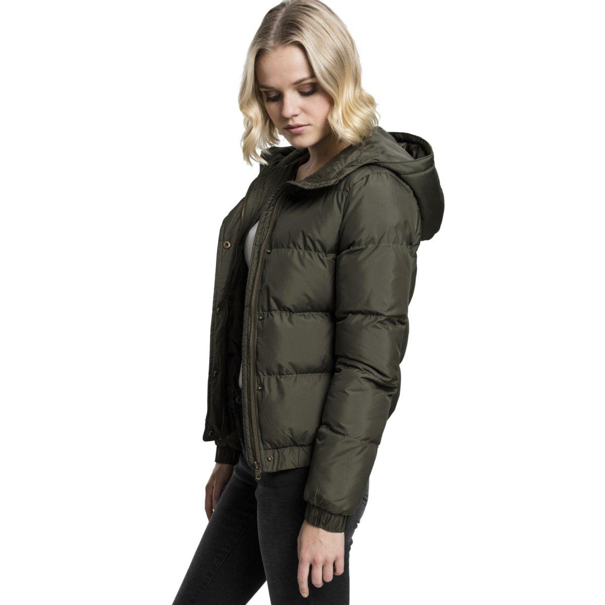 Stepp Hooded Classics Ladies Winterjacke Puffer Urban qPfCW