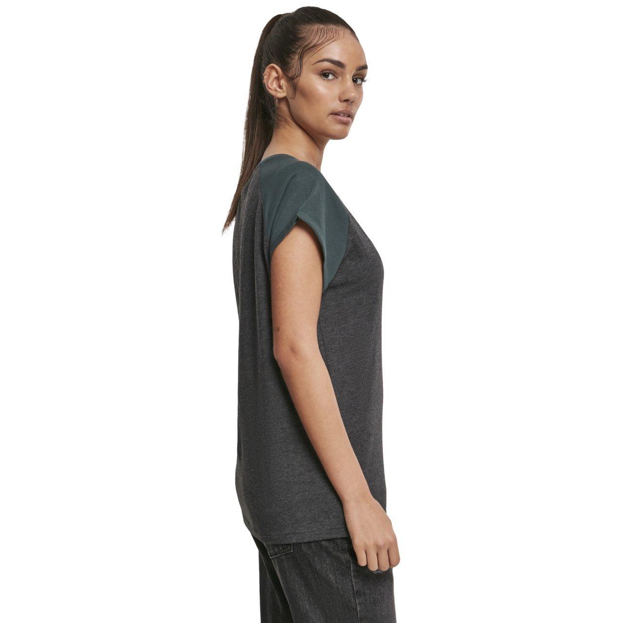 Urban Classics Damen T Shirt Ladies Sleeveless Pocket Tee
