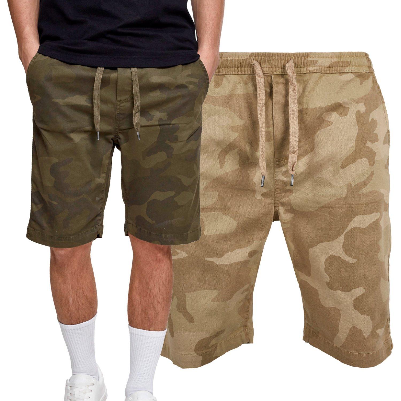 Urban Classics - Stretch Jogging Chino Bermuda Shorts camo   eBay