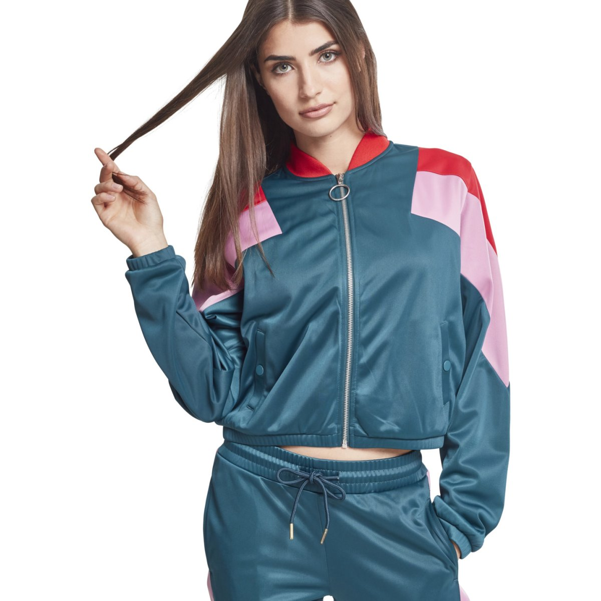Windbreaker Short Classics Ladies Jacket Track Urban T7zqwq