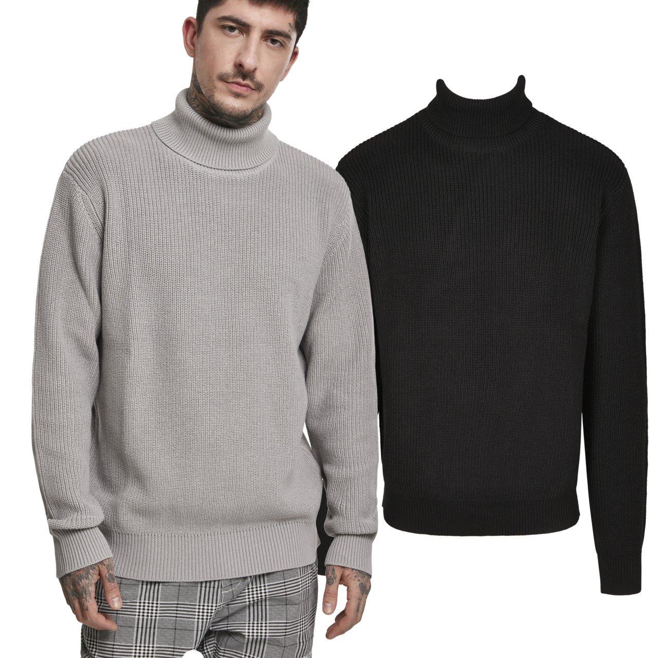 Urban Classics Herren Cardigan Stitch Sweater Pullover