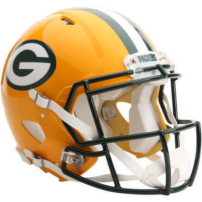 DARK GREEN GREEN BAY PACKERS Riddell Speed S2EG-II-SP Football Helmet Facemask