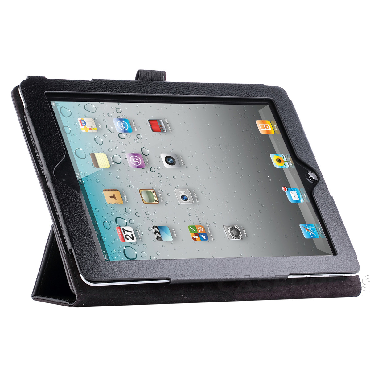 smart cover magnetic pu leather case sleep wake stand for. Black Bedroom Furniture Sets. Home Design Ideas