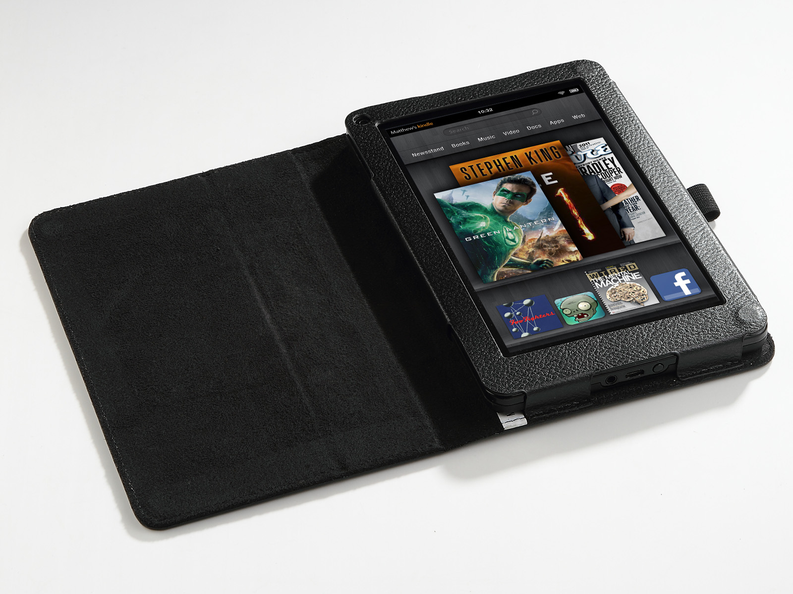 """For Amazon Kindle Fire 7"""" Inch New Magnetic Folio PU"""