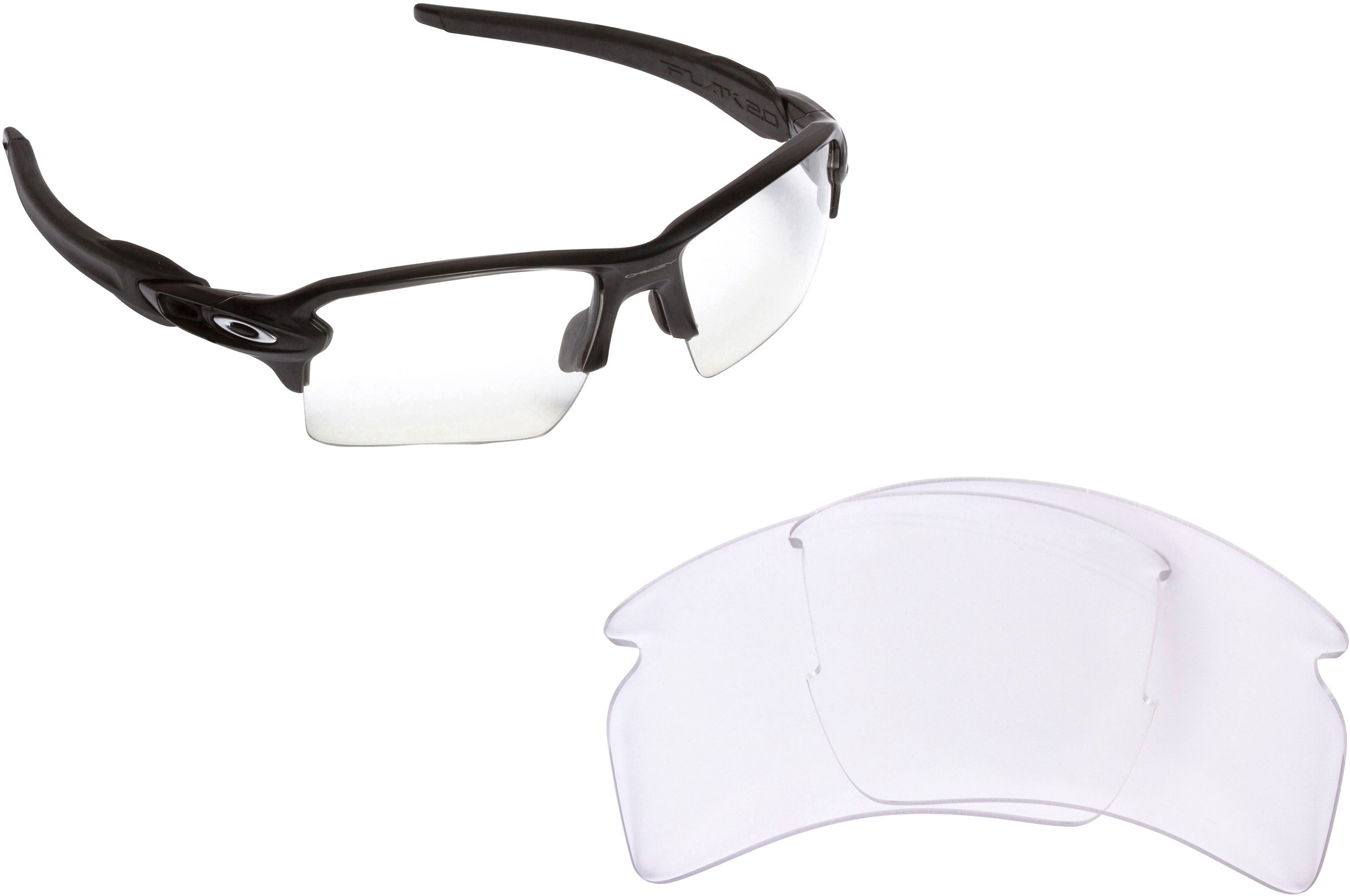 37c6bae5a906 Oakley Safety Glasses Clear Lenses