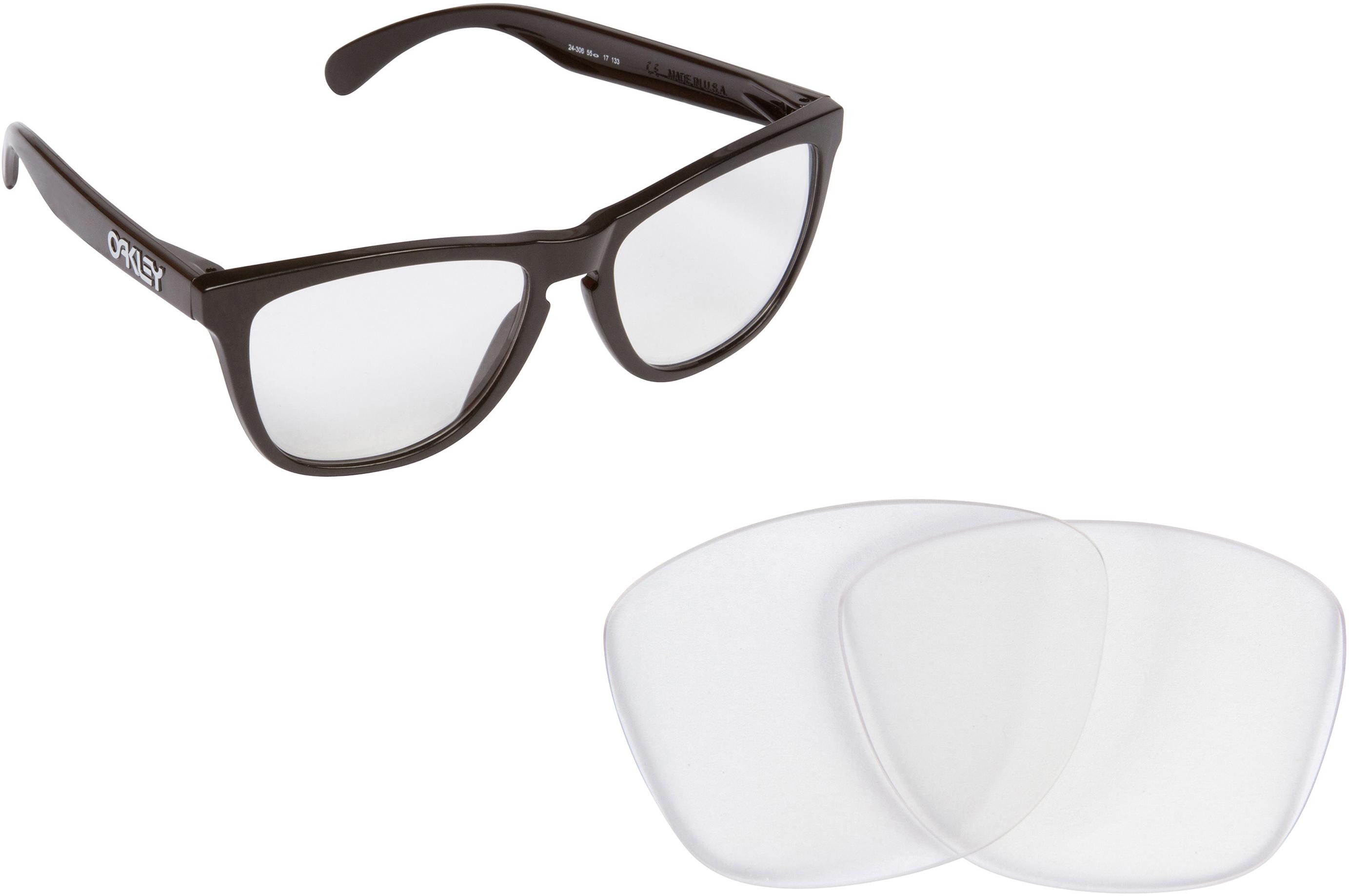 57ec7c1ac5 Oakley Frogskins Clear Frames