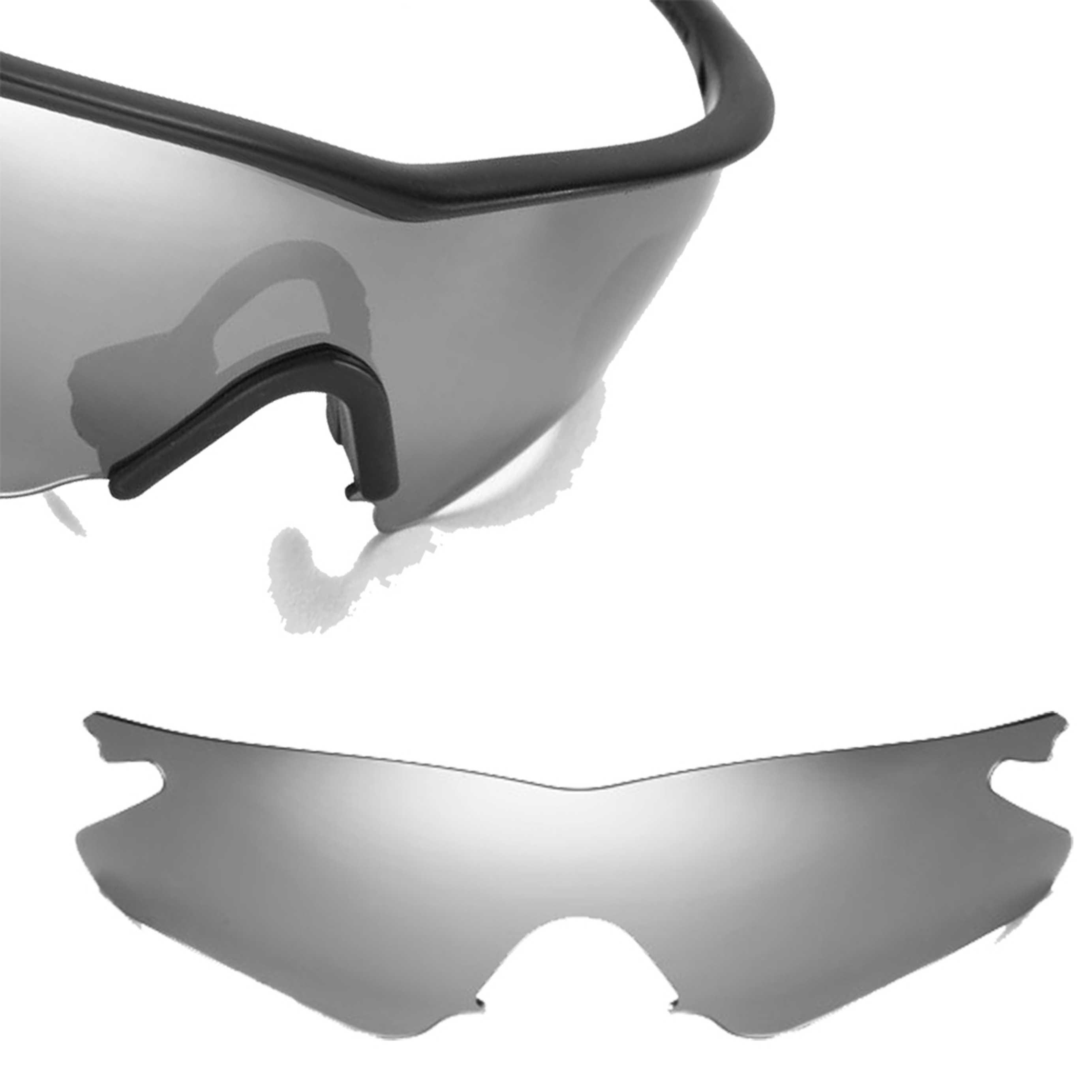 Seek Polarized Replacement Lenses for Oakley M Frame Heater Silver ...