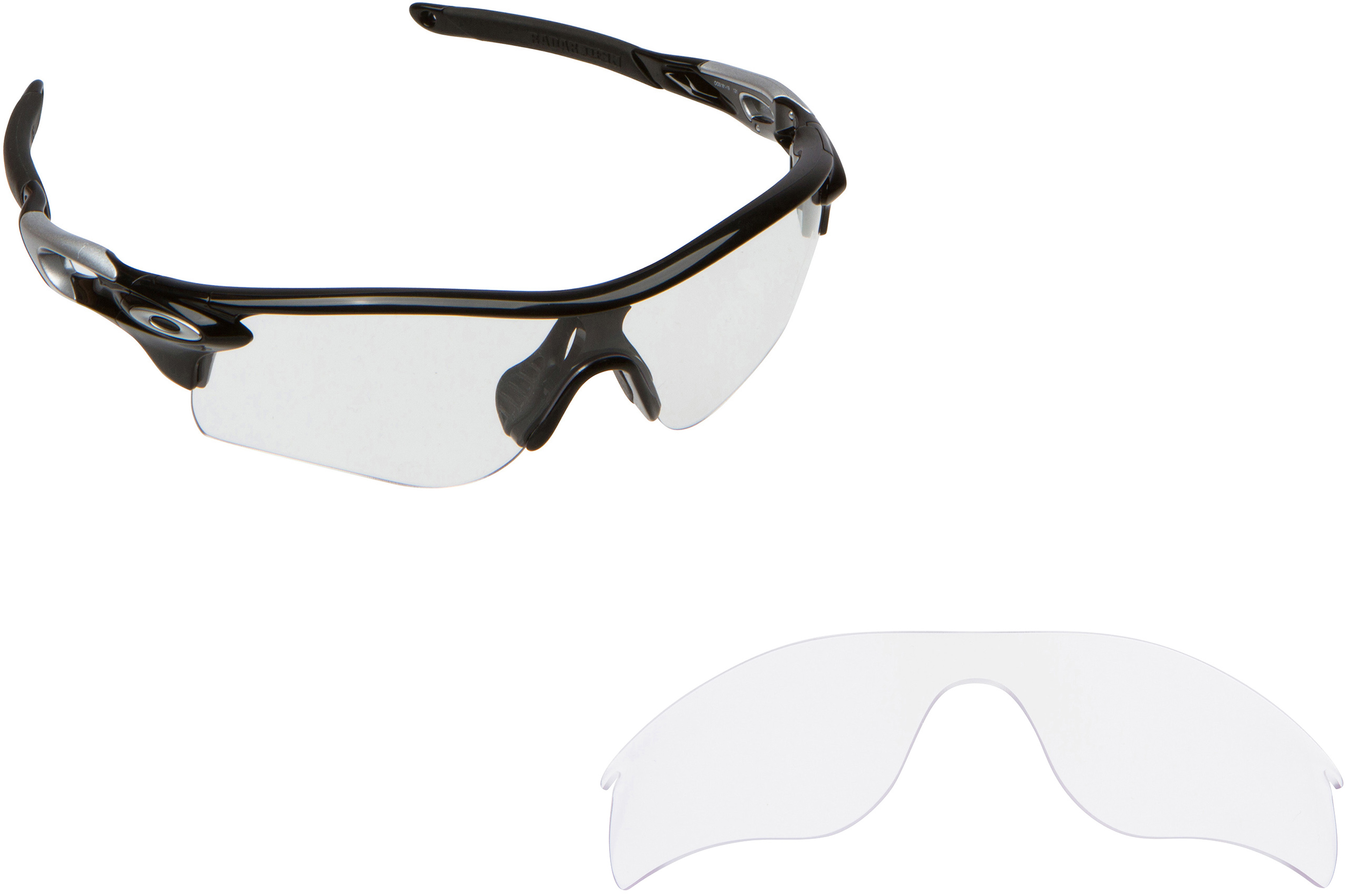 f168f551559c Seek Optics Replacement Lenses for Oakley Radarlock Path Clear on