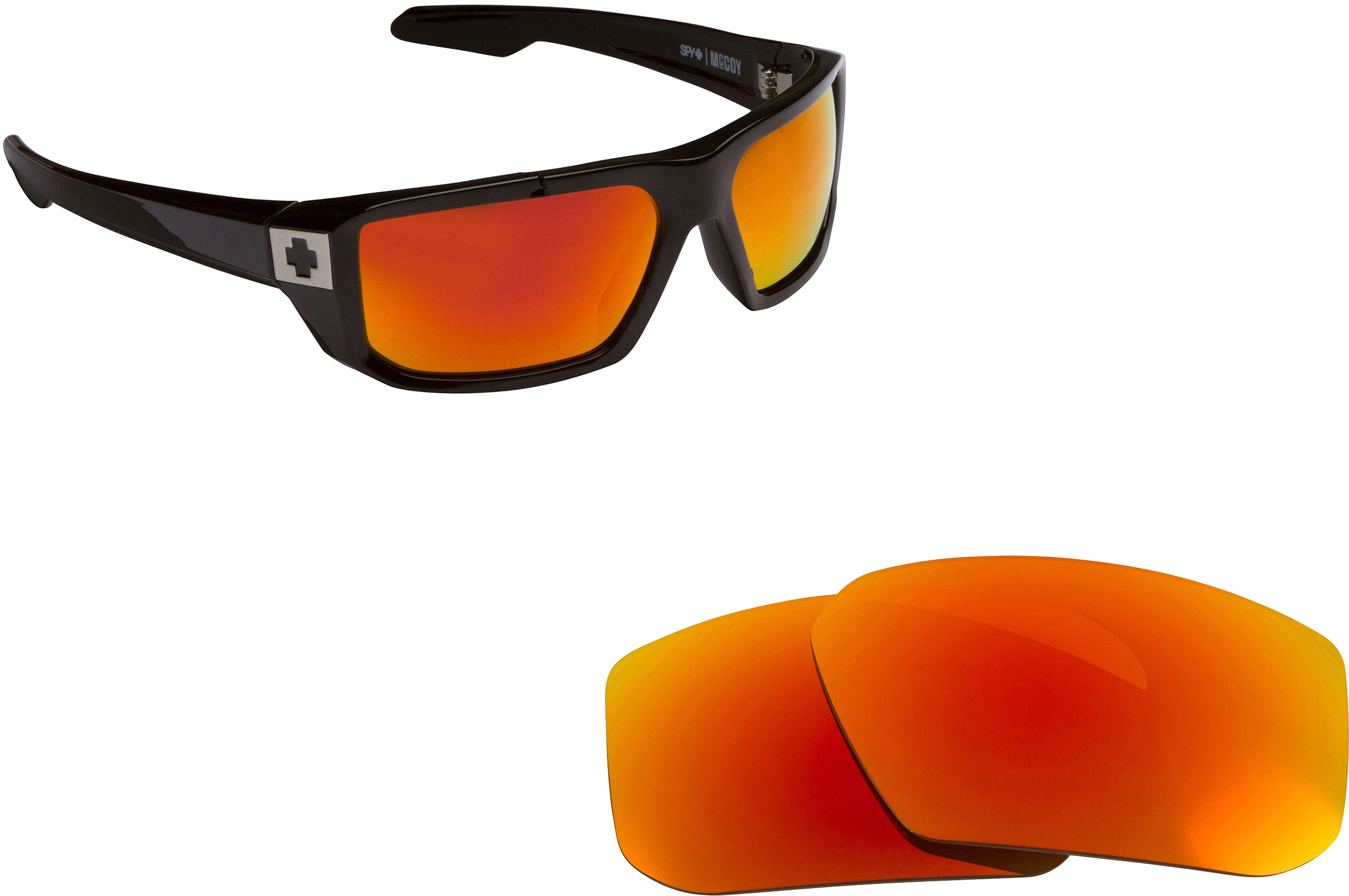bc80159f40 Hielo Replacement Lenses by SEEK OPTICS to fit SPY OPTICS Sunglasses ...
