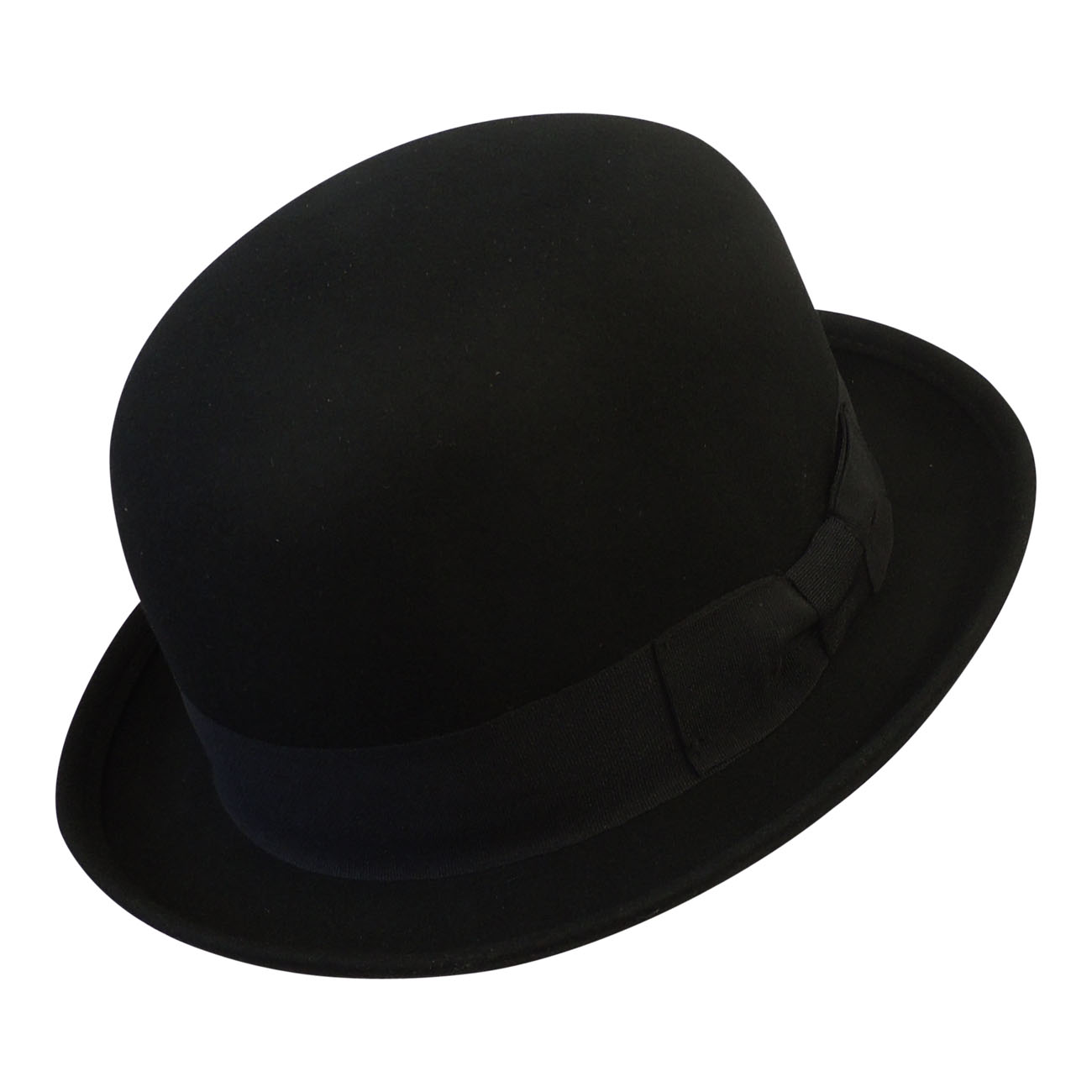 a146edc8dd New Men's Classic Vintage style 1920's 1930's 1940's Black Wool Felt Bowler  Hat