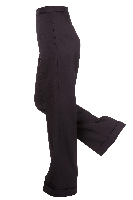 New VTG Wartime 1920s 1930s 1940s Style Wide Leg High ...