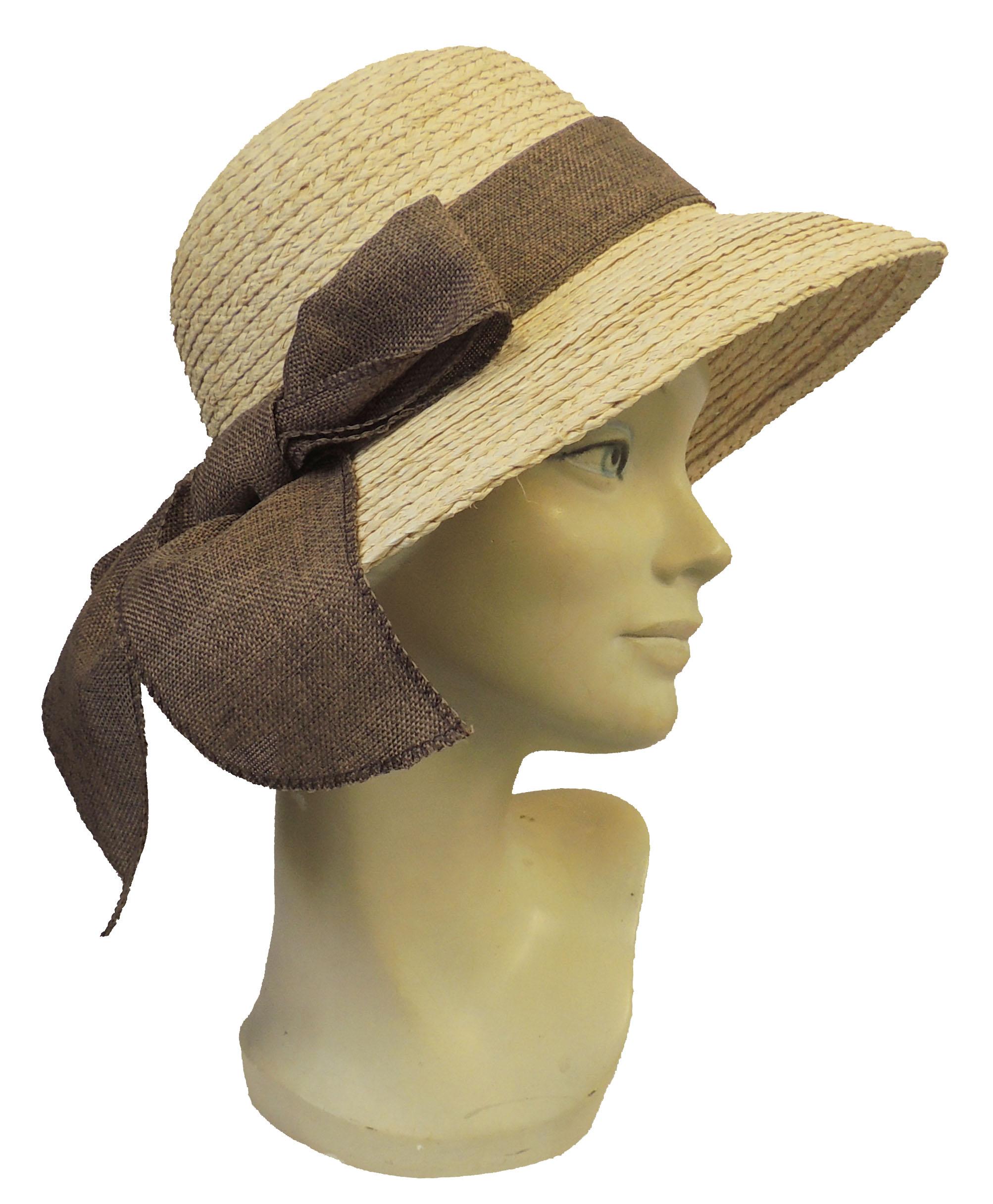 neuf r tro large bord raffia chapeau soleil t ann es 1920 1940s style avec ebay. Black Bedroom Furniture Sets. Home Design Ideas