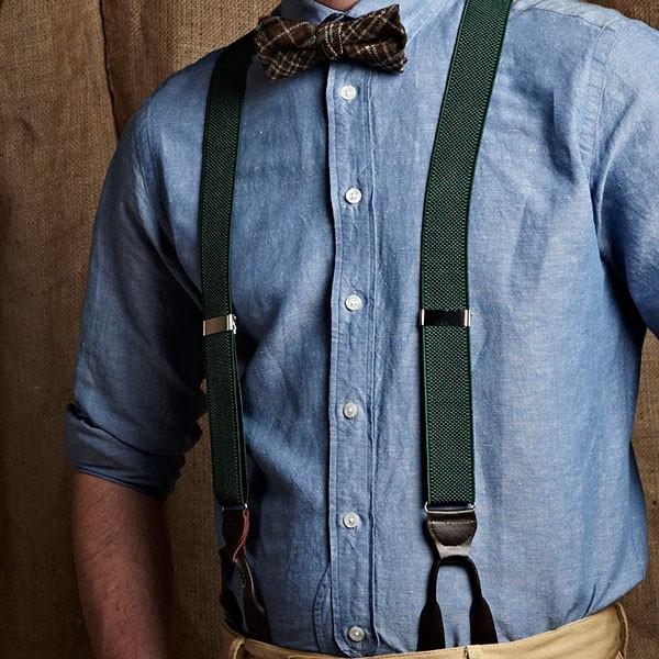 divers styles trouver le travail mode de luxe Détails sur Homme Vintage Style Années 1920 années 1930 années 40 Bouton  Sur Cuir Fin Bretelles jusqu'à 62