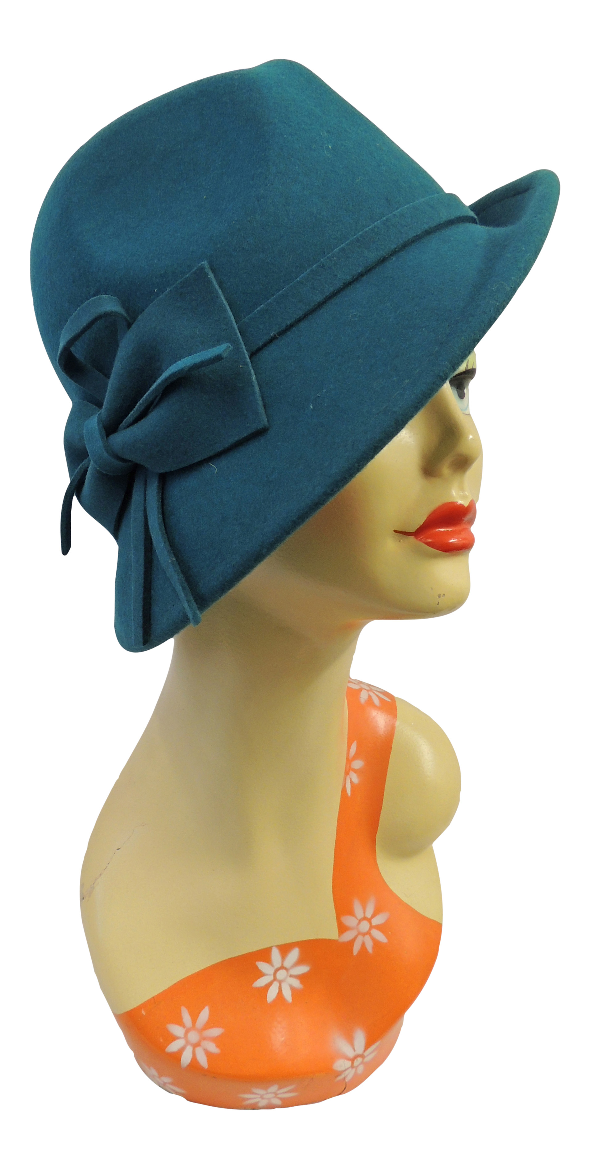 1920s Accessories | Great Gatsby Accessories Guide    Retro Vintage 1920s 1930s 1940s style Felt Fedora Cloche Gatsby Trilby Hat $29.99 AT vintagedancer.com