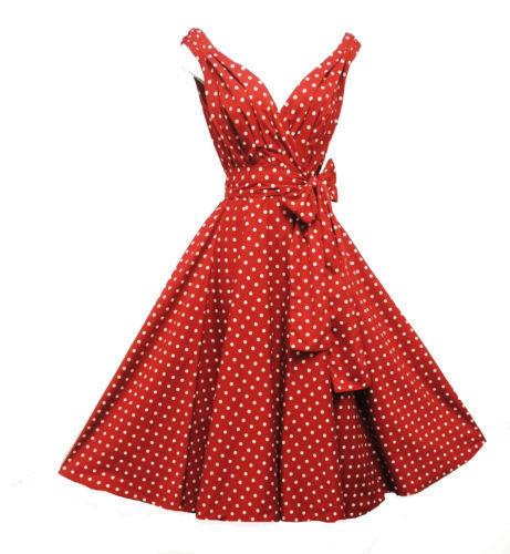 Rosa-Rosa-Vintage-1950s-Style-Navy-Polka-Dot-Summer-Party-Prom-Swing-Dress