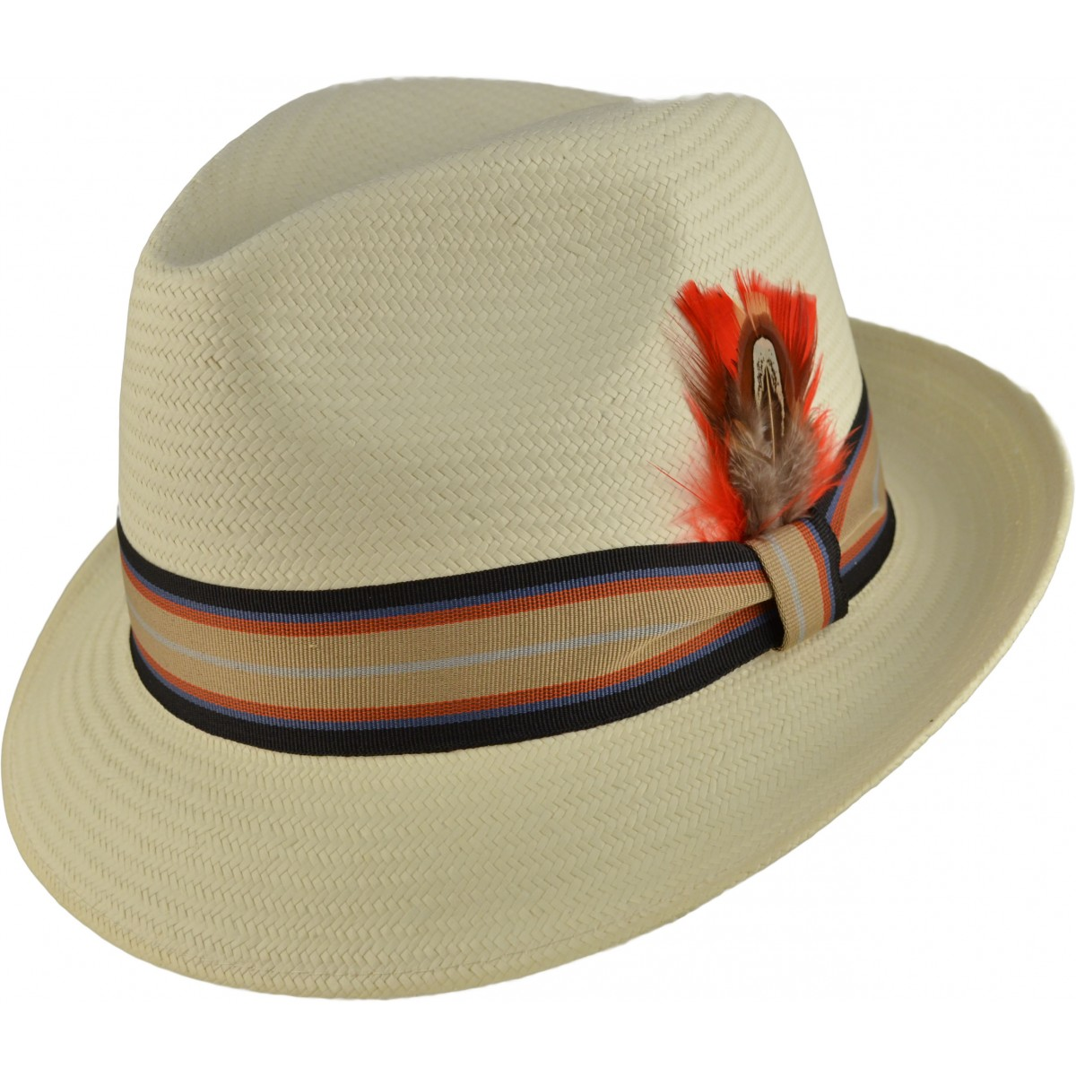 ddcafe362a Classic Mens Vintage style 1920's 1930's 1940's Trilby Panama Hat | eBay