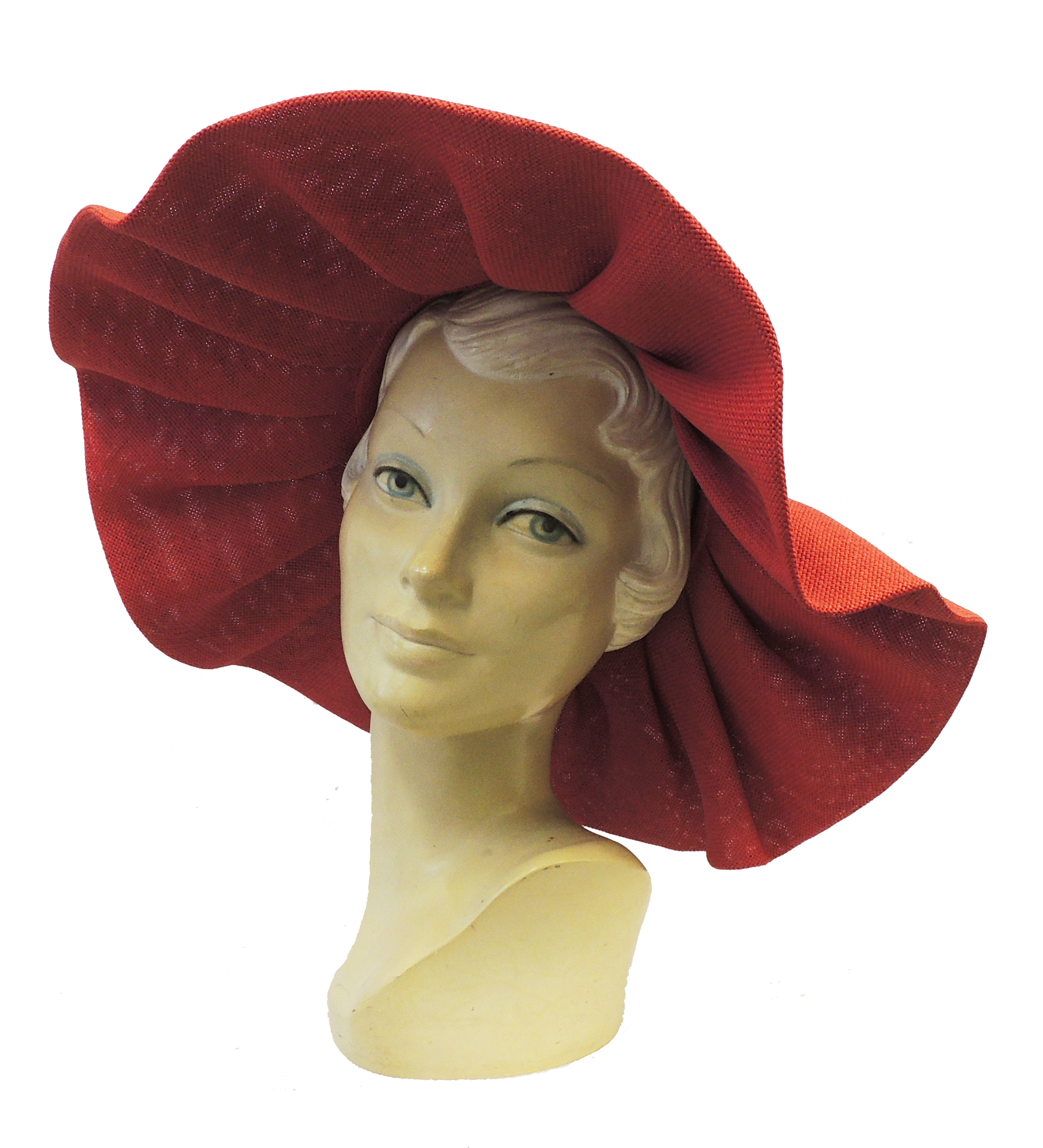 1950 Style Clothing- A Shopping Guide   New Retro Wide Brim Large Raffia Summer Sun Hat 1940s 1950s Hollywood Style $22.99 AT vintagedancer.com