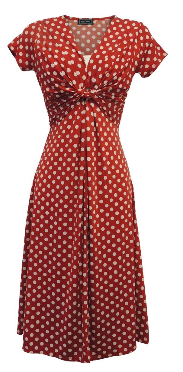Nouveau Imprimé Oiseaux WWII 1930/'s//1940/'s Vintage Style Land Girl Guerre tea dress