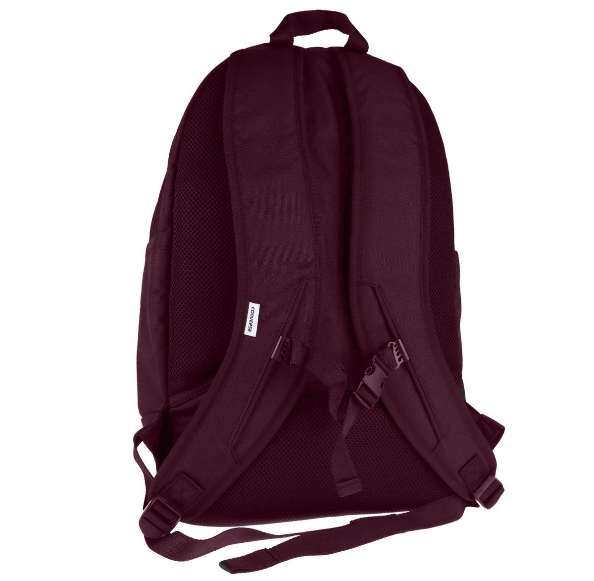 13cec50c0 Converse Poly Chuck Taylor Plus 1.0 Patch Backpack-Black | eBay