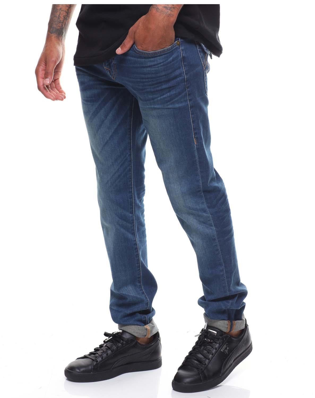 5be86f05e True Religion Men s Rocco Flap Renegade Denim Jeans