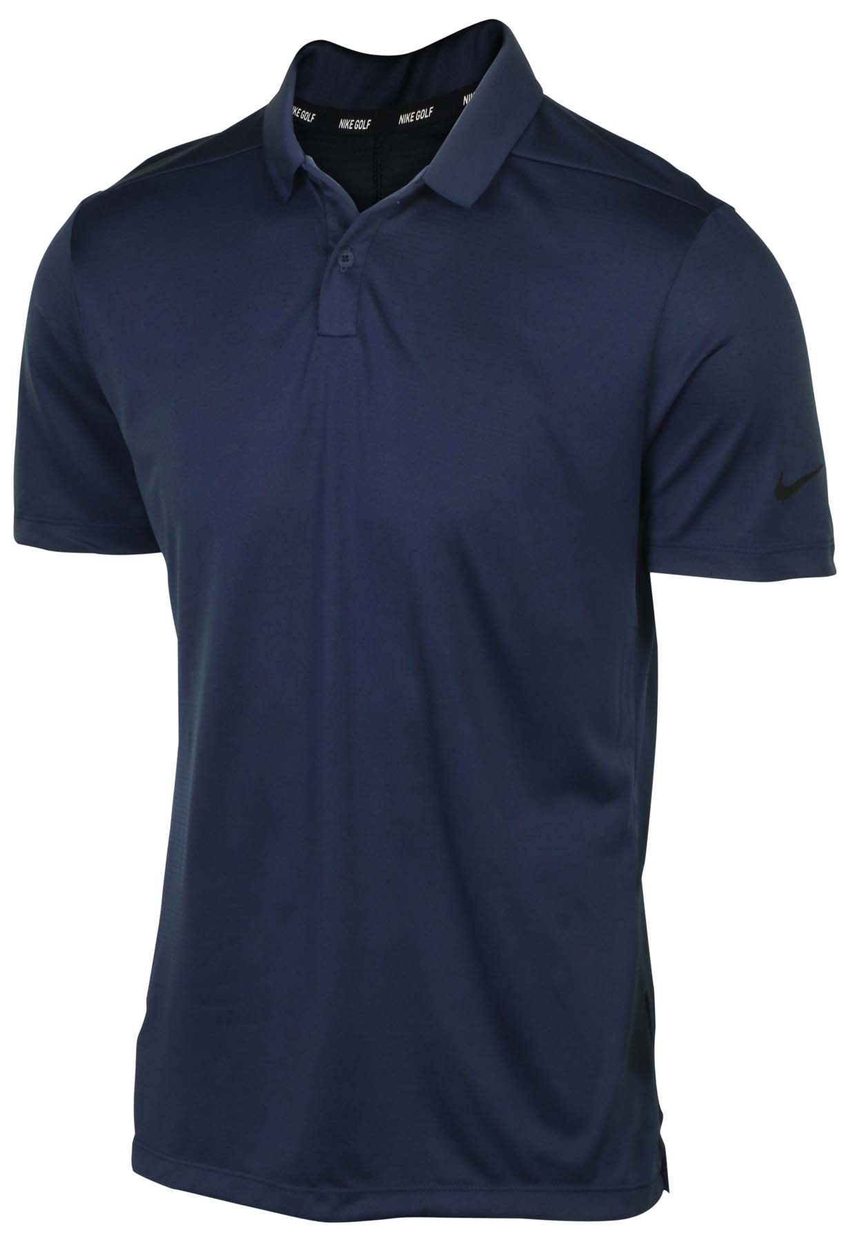 Nike Mens Dri Fit Breathe Texture Golf Polo Shirt Ebay